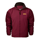 Maroon Survivor Jacket-Iona Wordmark