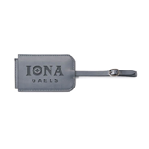 Fabrizio Grey Luggage Tag-Official Logo Engraved