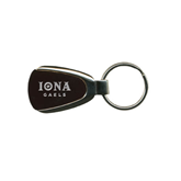 Maroon Teardrop Key Holder-Official Logo Engraved