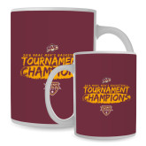 Full Color White Mug 15oz-2018 Mens Basketball Champions - Brush