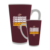 Full Color Latte Mug 17oz-MAAC Mens Basketball Champs