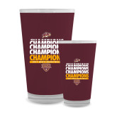 Full Color Glass 17oz-MAAC Mens Basketball Champs
