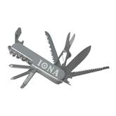 8 Function Pocket Knife-Iona Wordmark Engraved