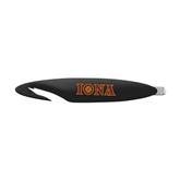 Black Letter Opener and Staple Remover-Iona Wordmark