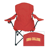 Deluxe Cardinal Captains Chair-Arched Iona College
