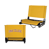 Stadium Chair Gold-Arched Iona College
