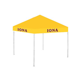 9 ft x 9 ft Gold Tent-Iona Wordmark