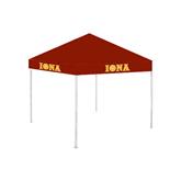 9 ft x 9 ft Cardinal Tent-Iona Wordmark