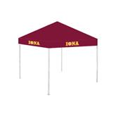 9 ft x 9 ft Maroon Tent-Iona Wordmark