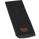 Black Golf Towel-Official Logo