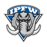 Large Decal-IPFW Mastodon Shield, 12 in W