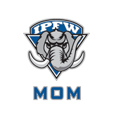 Mom Decal-IPFW Mastodon Shield, 6 in W
