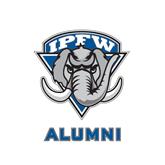 Alumni Decal-IPFW Mastodon Shield, 6 in W
