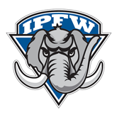 Extra Large Decal-IPFW Mastodon Shield, 18 in W