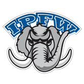 Extra Large Decal-Arched IPFW with Mastodon, 18 in W