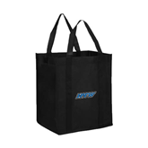 Non Woven Black Grocery Tote-IPFW