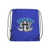 Royal Drawstring Backpack-Arched IPFW with Mastodon
