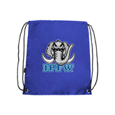 Royal Drawstring Backpack-Mastodon with IPFW