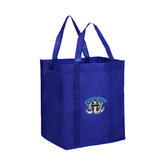 Non Woven Royal Grocery Tote-Arched IPFW with Mastodon