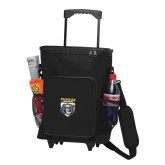 30 Can Black Rolling Cooler Bag-Primary Athletic Logo