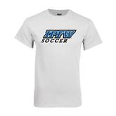 White T Shirt-Soccer