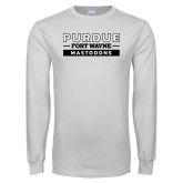 White Long Sleeve T Shirt-Nickname Wordmark