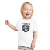 Toddler White T Shirt-Primary Athletic Logo