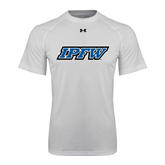 Under Armour White Tech Tee-IPFW