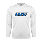 Syntrel Performance White Longsleeve Shirt-IPFW
