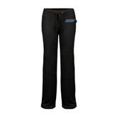 ENZA Ladies Black Fleece Pant-IPFW