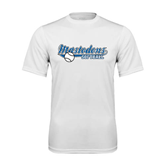 Syntrel Performance White Tee-Softball Design