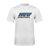 Syntrel Performance White Tee-Basketball