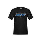 Youth Black T Shirt-IPFW