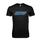 Next Level SoftStyle Black T Shirt-IPFW