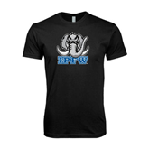 Next Level SoftStyle Black T Shirt-Mastodon with IPFW