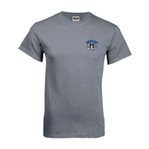 Charcoal T Shirt-Arched IPFW with Mastodon