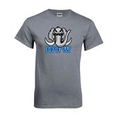 Charcoal T Shirt-Mastodon with IPFW