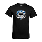 Black T Shirt-IPFW Mastodon Shield