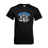 Black T Shirt-Arched IPFW with Mastodon