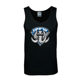 Black Tank Top-IPFW Mastodon Shield