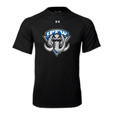 Under Armour Black Tech Tee-IPFW Mastodon Shield