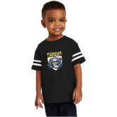 Toddler Black Jersey Tee-Primary Athletic Logo