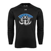 Under Armour Black Long Sleeve Tech Tee-Arched IPFW with Mastodon