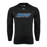 Under Armour Black Long Sleeve Tech Tee-IPFW