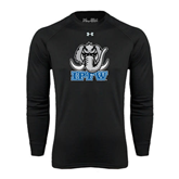 Under Armour Black Long Sleeve Tech Tee-Mastodon with IPFW