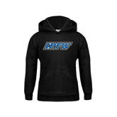 Youth Black Fleece Hoodie-IPFW
