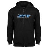 Black Fleece Full Zip Hoodie-IPFW