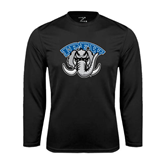 Syntrel Performance Black Longsleeve Shirt-Arched IPFW with Mastodon
