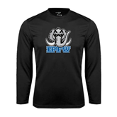 Syntrel Performance Black Longsleeve Shirt-Mastodon with IPFW