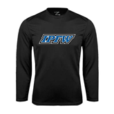 Syntrel Performance Black Longsleeve Shirt-IPFW